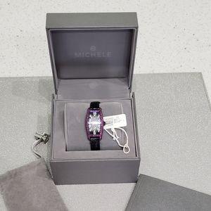 Michele Coquette  Pink Sapphire watch